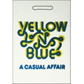 "sac en plastique magasin ""yellow 'n' blue"" - 2 couleurs"